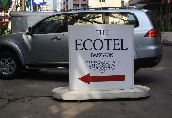 The Ecotel Bangkok: ecotel
