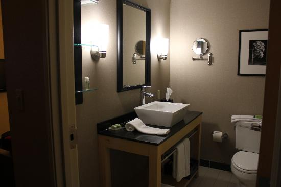 Cambria hotel & suites Noblesville - Indianapolis: Clean bathroom