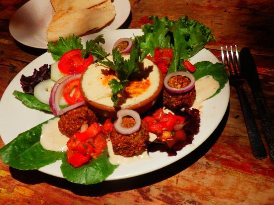 Rainbow Cafe: The Israeli falafel: best dish we had in Antigua