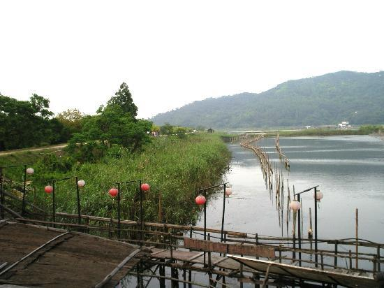 Qi'ao Island: Fish ponds