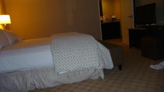 Embassy Suites by Hilton Los Angeles Glendale: Large bedroom with comfy King bed