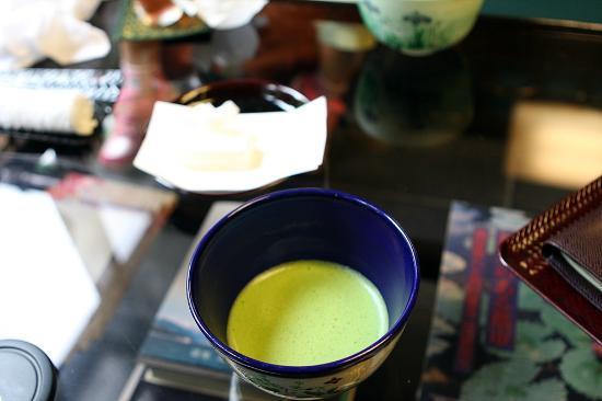 Beppu Showaen: welcome drink