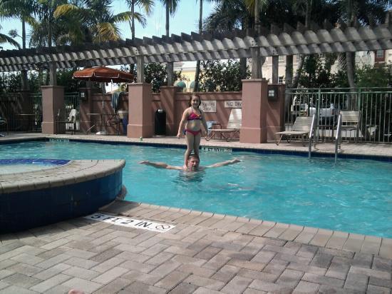 Residence Inn Fort Lauderdale SW/Miramar: pool area
