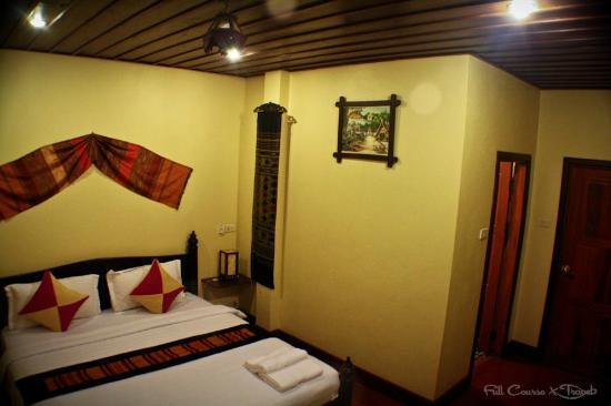 Villa Champa: A photo of the inside of our room.