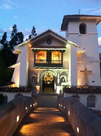 Aranwa Sacred Valley Hotel & Wellness: capilla del hotel