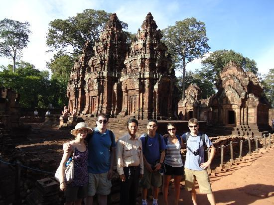 David Angkor Guide - Private Tours: David at Banteay Srei