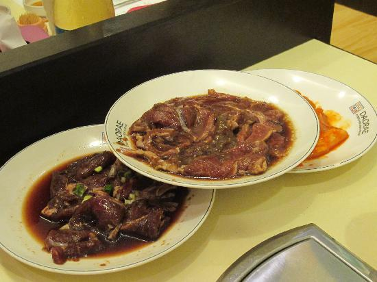Daorae Kepong Korean Restaurant: BBQ course