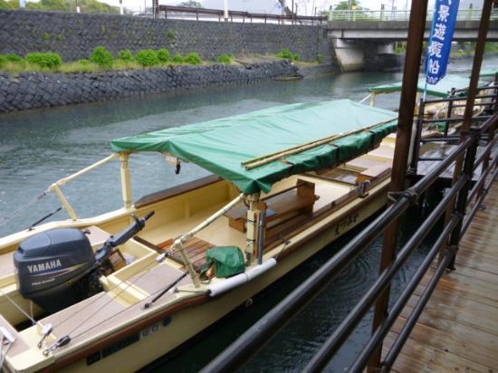 Hagi, Ιαπωνία: 遊覧船本体