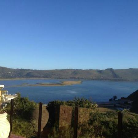 Overmeer Guest House : The Knysna lake from our room