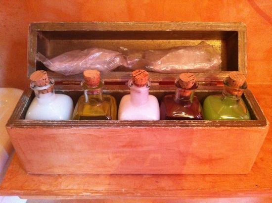 Villa Orso Grigio: Set di prodotti per il bagno