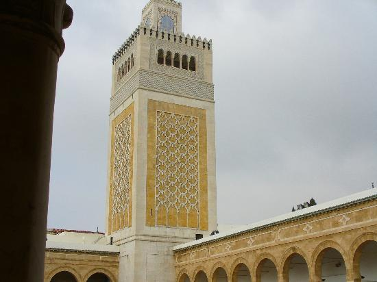 Zitouna Mosque : Una veduta della Zitouna.
