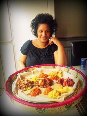 Habesha: me and the sharing platter