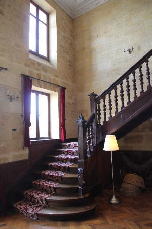 Chateau Julie: stairs