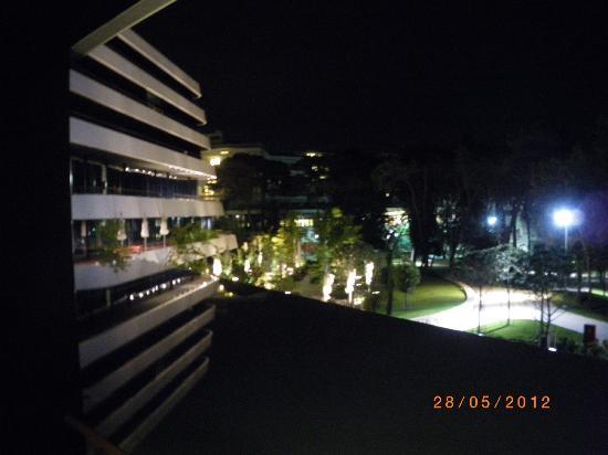 Hotel Lone : Ausblick bei Nacht