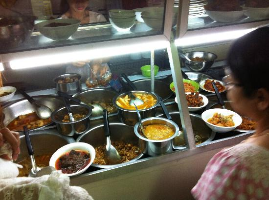 Aung Thukha: This is where you choose your food.