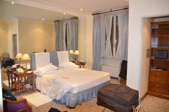Aldrovandi Villa Borghese: Decent room