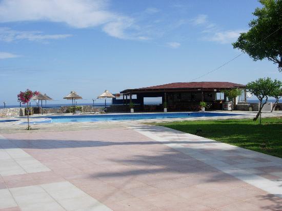 Hotel Oceanis: la terasse