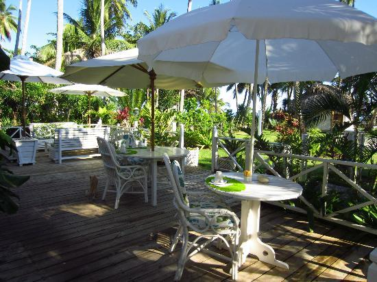 Casa Coson: breakfast terrace