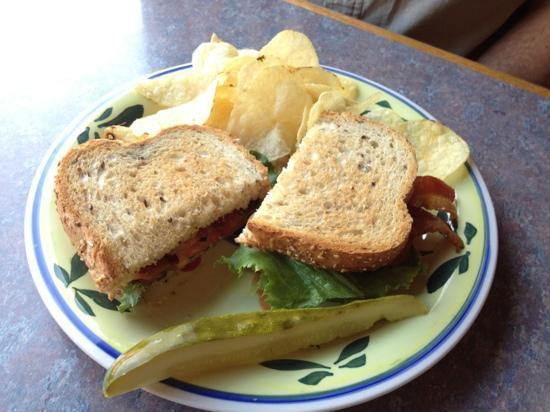 Wild Hare Bistro and Coffeehouse: BLT special