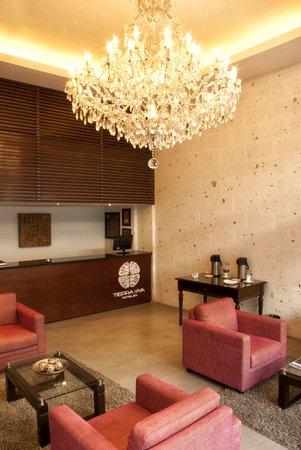 Tierra Viva Arequipa Plaza Hotel: Front Desk