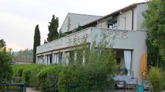 La Malcontenta Hotel: parte lateral del hotel , arriba habitacion