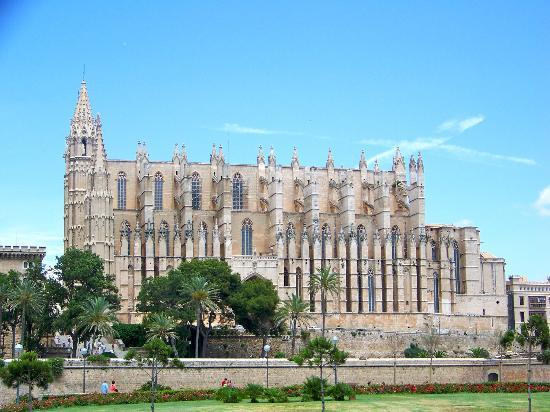 Palma de Mallorca, Spain: La Seu Palma Cathedral