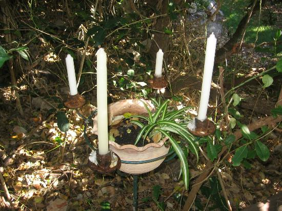 The Guest House At Kennedy Point Vineyard : Candles