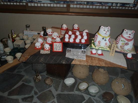 Umashiyado Totoya: 『丹波の狛猫』の置物