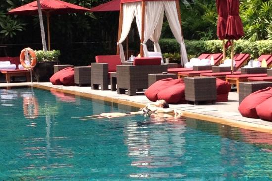 The Sukhothai Bangkok: Piscina, increíble!!!
