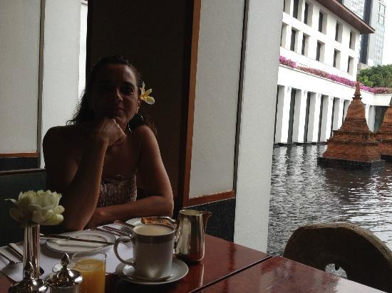 The Sukhothai Bangkok: Desayunando con una increíble vista
