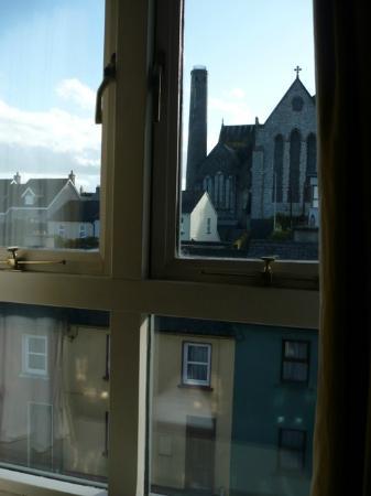Kilkenny Inn Hotel: vista sulla cattedrale