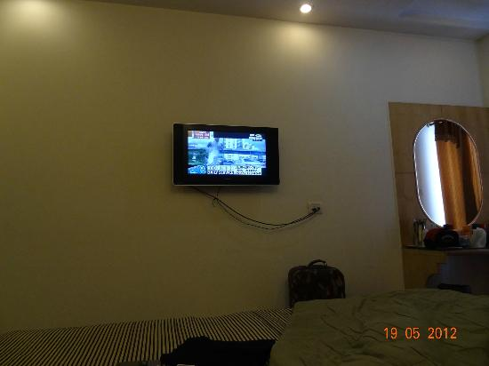 Hotel Delhi City Centre: LCD TV in the room