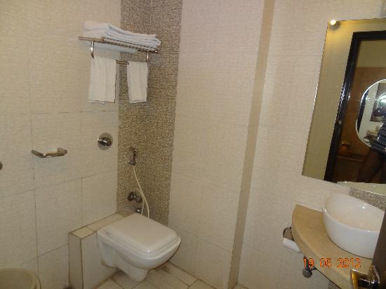 Hotel Delhi City Centre: The bathroom