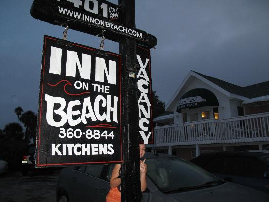 Inn on the Beach: The front of the Inn