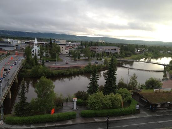 SpringHill Suites Fairbanks: view from sixth floor.