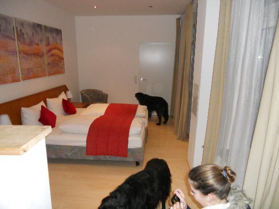 ArtHotel City: La camera con i suoi 3 letti