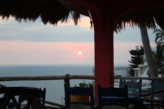 Hotel Los Flamingos: sunset
