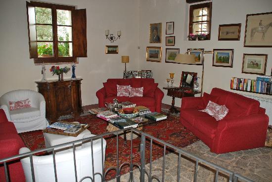 B&B La Canonica di San Michele: Saletta lettura rilassante