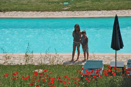 B&B La Canonica di San Michele: La piscina