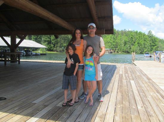 La Prade's On Lake Burton: On the dock