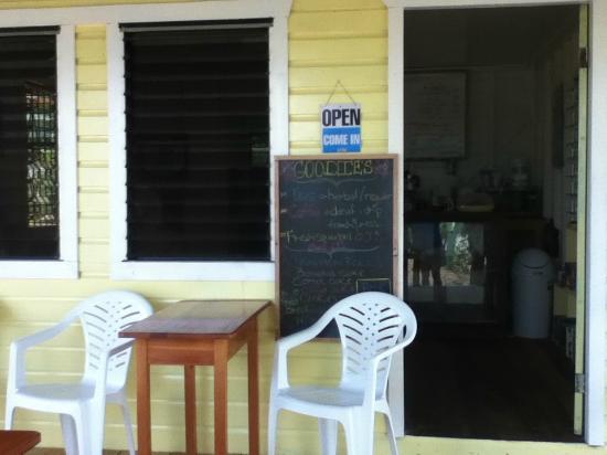 Miss Goodies: The menu board