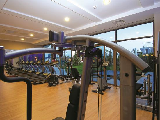 Commodore Elite Suites & Spa: Fitness room