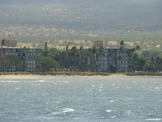 Kauhale Makai, Village by the Sea: veiw of the complex from the water