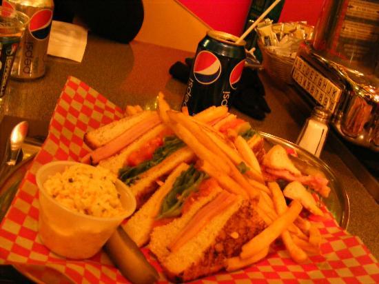 Le Club Sandwich : club sandwich