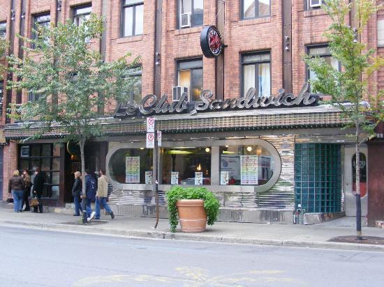 Le Club Sandwich : club sandwich diner