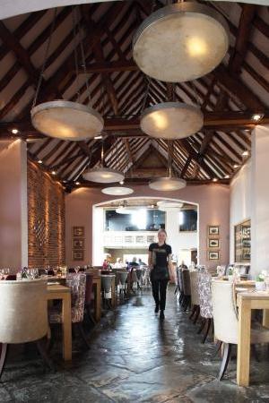 Baraset Barn: The main dining room