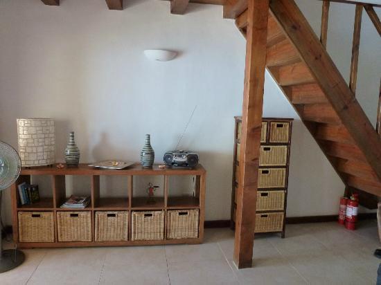 Clef des Iles: Living area