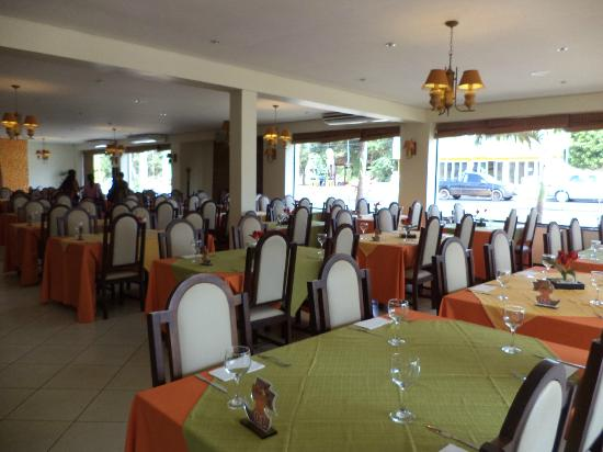 Don Cabral: salon del restaurant