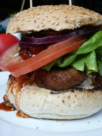 Gourmet Burger Kitchen: panino con falafel
