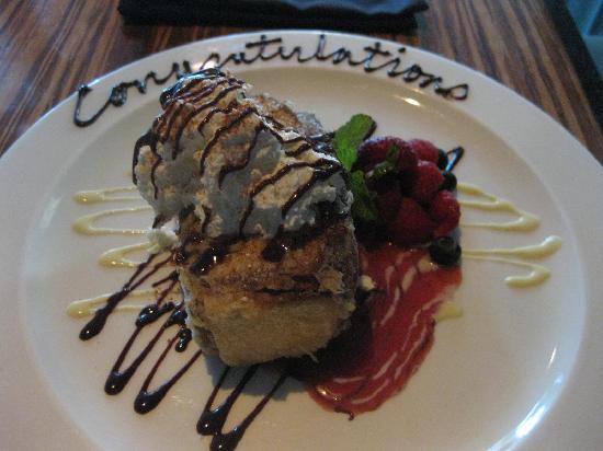 Kenichi: Tempura-fried ice cream with tempura-fried pickled ginger